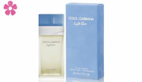 d & g luz azul